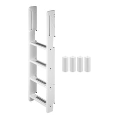 Bunk Ladder and Middle Pieces for Flexa White Bunk Bed