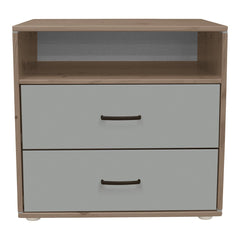 Classic Chest with 2 Drawers and 1 Shelf