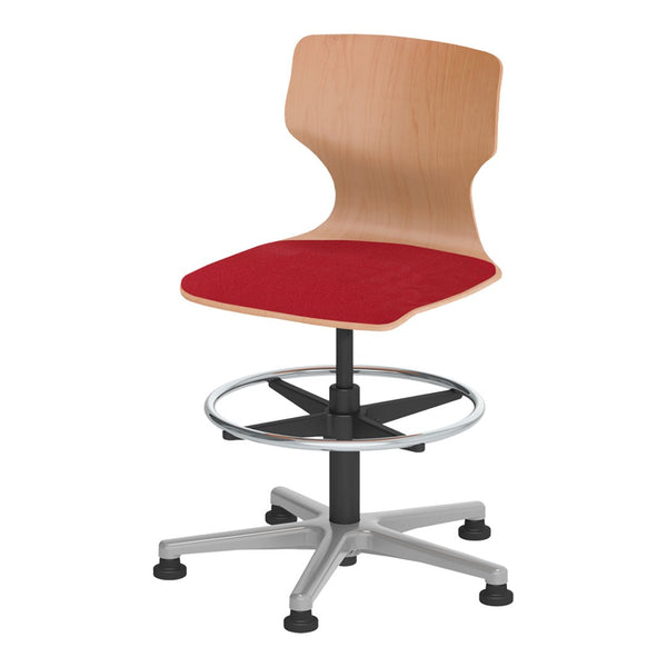Pagholz® Series 78 Conference Chair w/ Gas Lift & Footrest - Upholstered