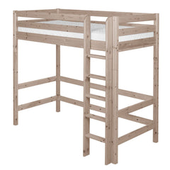 Classic High Bed with Straight Ladder