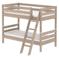 Classic Bunk Bed with Slanting Ladder