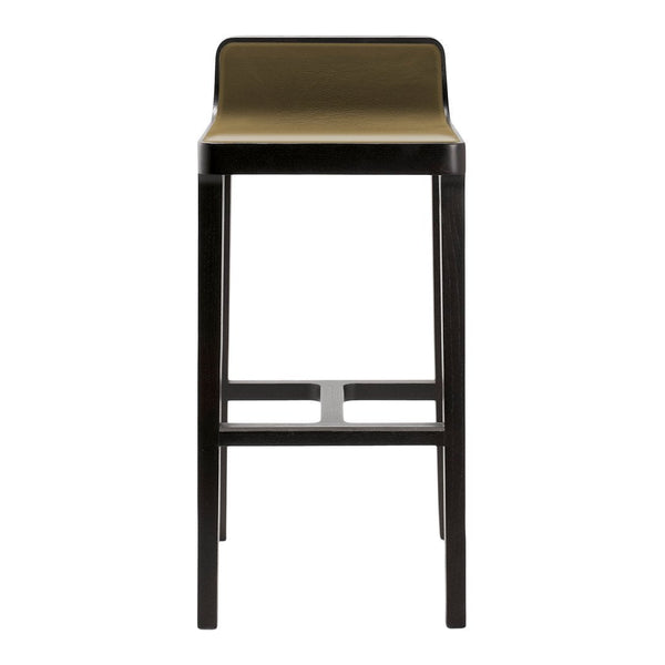 Emea Bar/Counter Stool - Low Back, Front Upholstered
