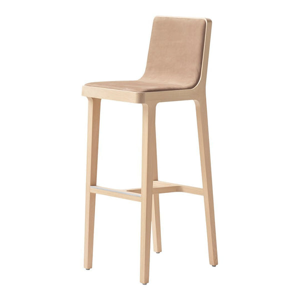 Emea Bar/Counter Stool - High Back, Front Upholstered