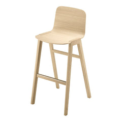 Heldu High Back Bar Stool - Unupholstered