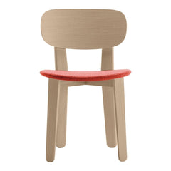 Triku Chair - Seat Upholstered, Backrest in Oak