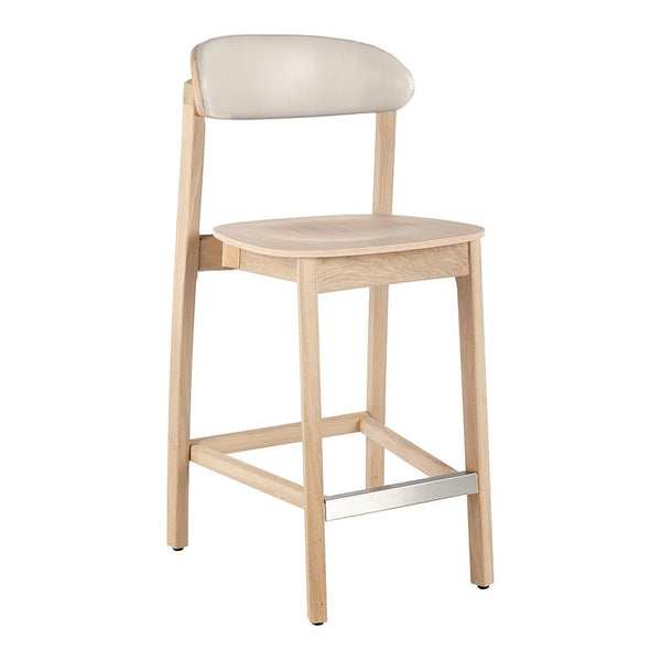 Arch Bar Stool - Back Upholstered