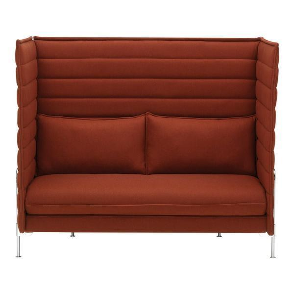 Alcove Highback Sofa - Two Seater