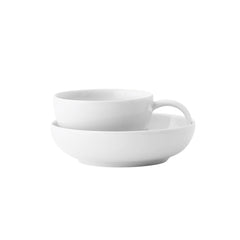 Lyngby Porcelain Bakker Cappucino Cup with Saucer