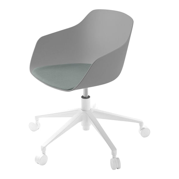 Kuskoa Bi Office Chair - 5-Star Swivel Base, Seat Upholstered
