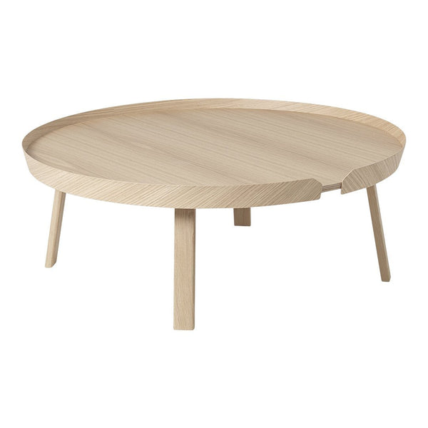 "Around Coffee Table - Oak / Extra Large: 37.5"" Dia x 14.25"" H - Outlet"