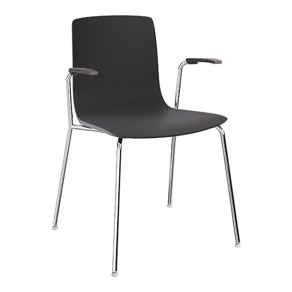 Aava Chair – Steel Base w/ Arms