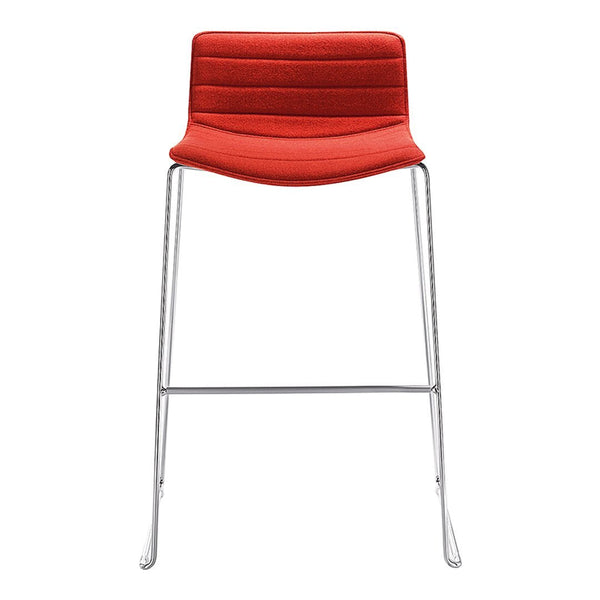 Catifa 46 Stool – Low Back – Upholstered