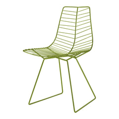 Leaf Chair with Sled Base