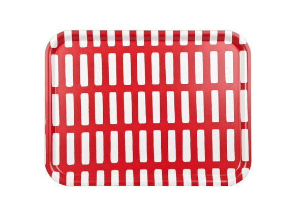 Artek Siena Big Tray - Red/White