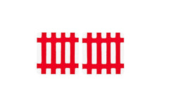 Artek Siena Coaster (Set of 2) - Red/White