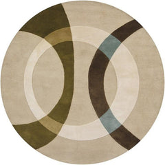 Bense 3021 Rug - Cream/Beige/Green/Brown/Blue