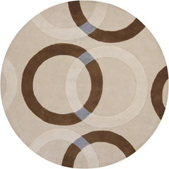 Bense 3022 Rug - Cream/Beige/Brown/Blue