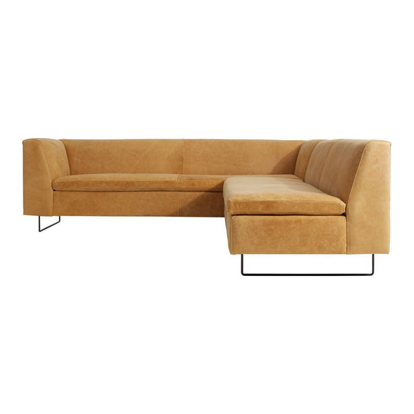 Bonnie & Clyde Leather Sectional Sofa