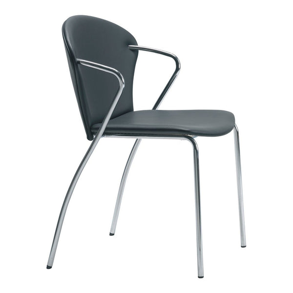 Bessi Stacking Chair - Fully Upholstered