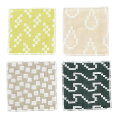 Bitmap Textiles Coasters (Set of 4)