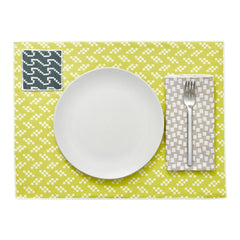 Bitmap Textiles - Placemats, Set of 4