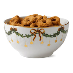 Star Fluted Christmas Bowls