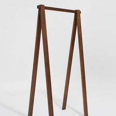 Area Bruno Walnut Clothes Rack