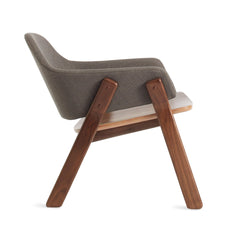 Clutch Lounge Chair - Packwood Charcoal/Walnut - Outlet - LA Showroom Pickup Only