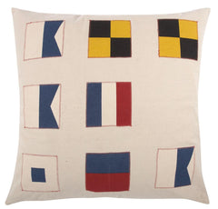 Flags Throw Pillow