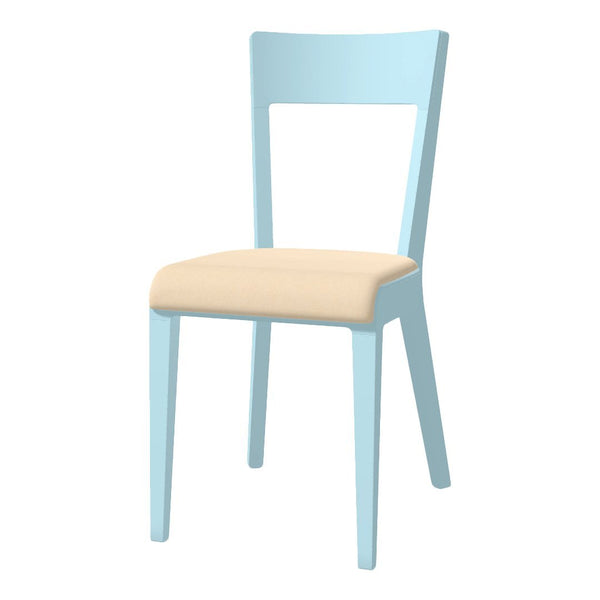 Chair Era - Seat Upholstered - Beech Pigment Frame