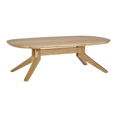 Cross Oval Coffee Table