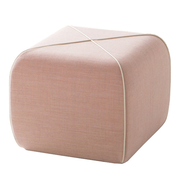 Crossed Pouf - Square