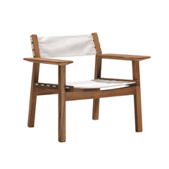 Skargaarden Djuro Lounge Armchair - Teak and Fabric