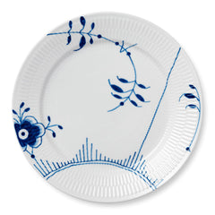 Blue Fluted Mega Dinner Plates