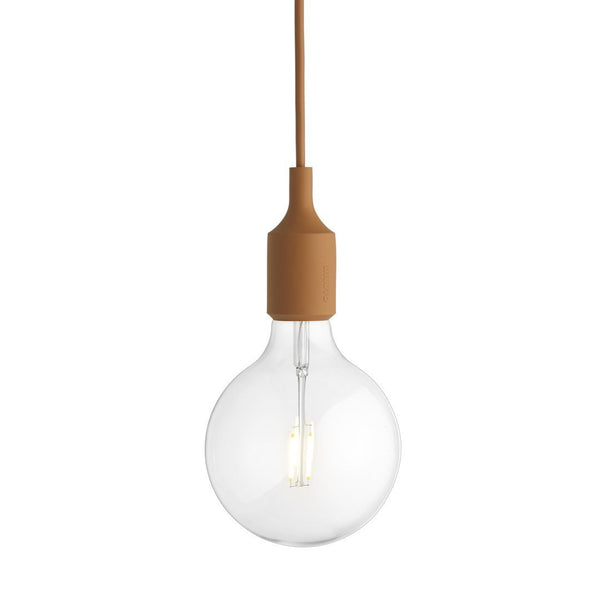 E27 Pendant Lamp - Clay Brown - Outlet