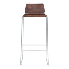 Form Bar Stool - Seat Upholstered
