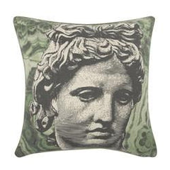 Piero Malachite Flax Pillow