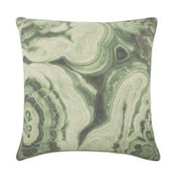 Malachite Flax Pillow