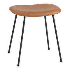 Fiber Stool - Tube Base - Upholstered