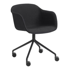 Fiber Armchair - Swivel Base w/ Castors