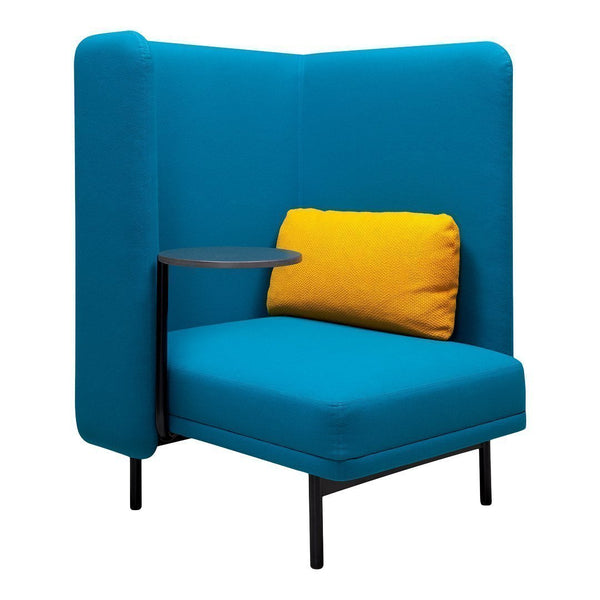 Frankie 1-Seat Sofa - 3-Sided Wall
