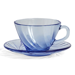 French Coffee Cup w/ Saucer