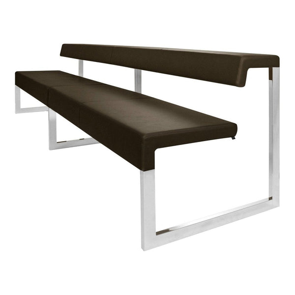 Gate Bench with Back