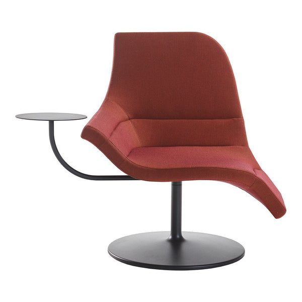 Gemini Swivel Chair, Disc Base w/ Table