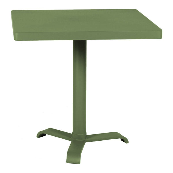 Tolix 77 Pedestal Cafe Table - Square - Outdoor