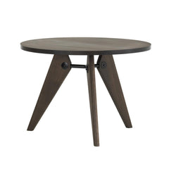 Vitra Gueridon Table - Smoked Oak, 41.25 Dia