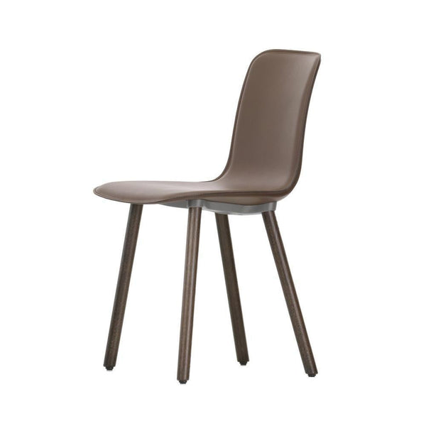 Vitra HAL Leather Wood