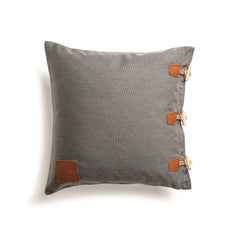 Skargaarden Hamse Pillow - Charcoal Chine