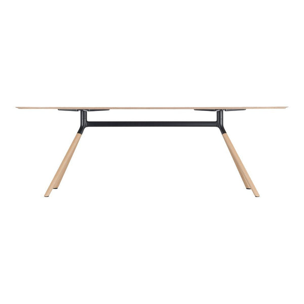 Fork Rounded End Desk Table 180