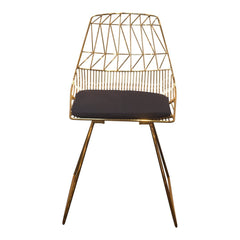 Lucy Chair - Gold - Outlet